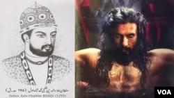 یک مؤرخ افغان: چهرۀ سلطان علأالدین خلجی در فلم پدماوت مسخ شده است