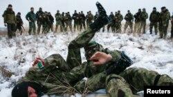 Чеченські бойовики з батальйону «Смерть» навчаються на території Донеччини