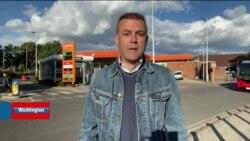 İngiltere'de Benzin İstasyonlarında Uzun Kuyruklar