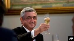 Presiden Armenia Serge Sarkisian