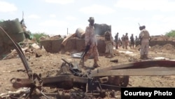 Lokasi serangan al-Shabab di Beledweyne, Somalia, October 2016. (Foto: Dok)