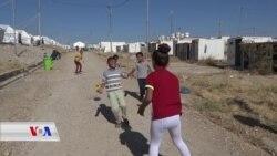 Zarokên Rojavayî li Kampa Berdereş ji Xwendinê Dûr In