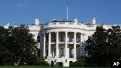 미국 수도 워싱턴 DC의 백악관 건물. (자료사진)