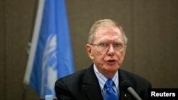 유엔 북한인권 조사위원회(COI) 마이클 커비 위원장. (자료사진)