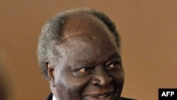 The President of Kenya Mwai Kibaki (file)