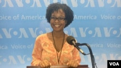 Diamond Fisher, VOA Intern