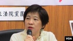 台聯黨立委 黃文玲 (美國之音記者張永泰拍攝)