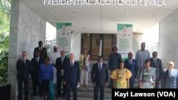 Les participants de la 2ème réunion du GST-Mali, Lomé, le 8 mars 2021.
