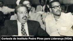 Pedro Pires(esquerda) e Abílio Duarte(direita)