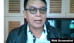 Anggota Komisi I DPR RI TB Hasanuddin. (Foto: VOA)