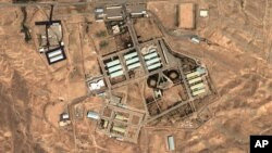 Satellite image provided by DigitalGlobe and the Institute for Science and International Security shows the military complex at Parchin, Iran, 30 kilometers southeast of Tehran, file photo 2004.