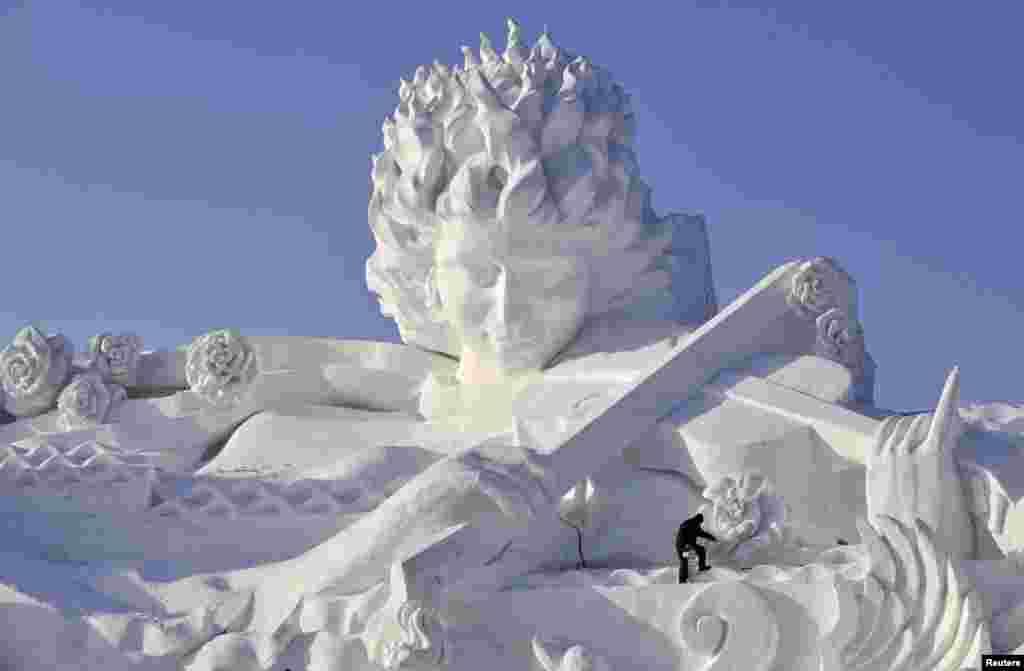 مجسمہ سازوں کے تخلیق کردہ شاہکار