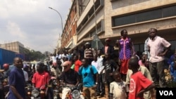 Wafuasi wa upinzani katika mji mkuu Kampala