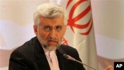 27일 카자흐스탄에서 이란의 핵 협상 책임자 사에드 자릴리.