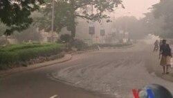 2012-01-09 粵語新聞: 尼日利亞全國罷工抗議油料價格上漲