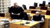 Milarem Berbić u sudnici Suda BiH.