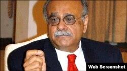 پاکستانی کرکٹ بورڈ کے چیئرمین نجم سیٹھی (فائل فوٹو )