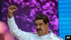 委內瑞拉陷入困境的總統馬杜羅。