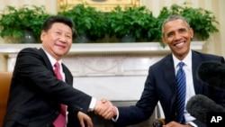 奧巴馬和習近平上星期簽署網絡安全新協議