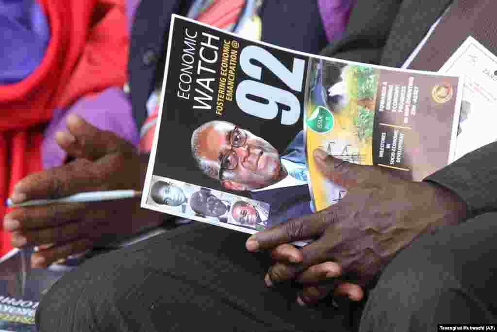 An yi bukin zagayowar ranar haihuwar shugaba Mugabe.