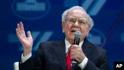 Le milliardaire américan Warren Buffett, 14 janvier 2016.