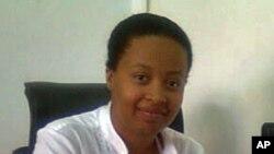 Yolanda de Sousa, presidente da União dos Estudantes do Ensino Superior de Angola