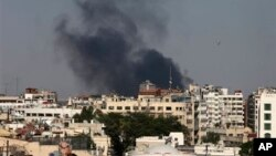 Syria vẫn tiếp tục pháo kích vào khu ngoại ô thủ đô Damascus sau sự kiện bị cho là cuộc tấn công bằng vũ khí hóa học ngày 21/8.