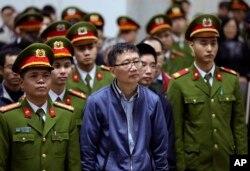 Ông Trịnh Xuân Thanh, cựu chủ tịch HĐQT PVC, nhận án chung thân tội tham ô