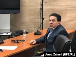 Naser Kelmendi u sudnici prištinskog suda
