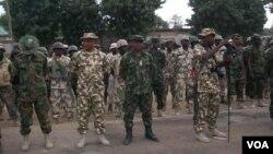 Wasu Dakarun Najeriya Bayan Darkake 'Yan Boko Haram a Bama