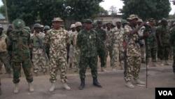 Sojojin Najeriya dake fafatawa da 'yan Boko Haram