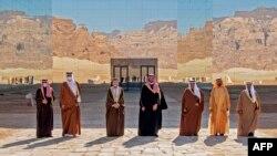 سعودي په ۲۰۱۷ کې له قطر سره خپل سرحد وتړه