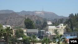 洛杉矶的好莱坞标志