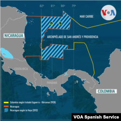 El 19 de noviembre del 2012 fue el más reciente fallo de la Corte Internacional de Justicia falló por la disputa territorial y de delimitación marítima entre Nicaragua y Colombia.