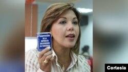 Elenis Rodriguez, directora de la Fundación por los Derechos Humanos y Civiles en Venezuela.