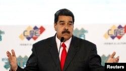 """Archivo.El presidente de Venezuela, Nicolás Maduro, acusó esta semana a EE.UU. de apoyar una """"conspiración"""" en su contra."""