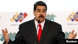 """""""Venezuela debe decir '¡Fuera de aquíUnión Europea!Basta ya de intervención y los viejos colonialismos"""", dijo Maduro."""