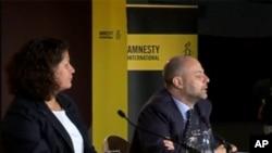 Privremeni tajnik Amnesty Internationala Claudio Cordone prilikom objavljivanja izvješća