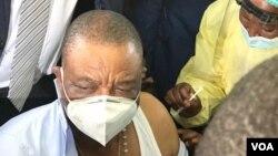 Mutevedzeri wemutungamiri wenyika VaConstantino Chiwenga vachibayiwa nhomba