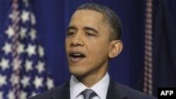 Президент США Барак Обама. Белый дом. Вашингтон. 15 февраля 2011 года