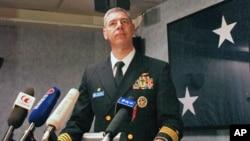 舰长丹尼尔.格利可会见香港媒体