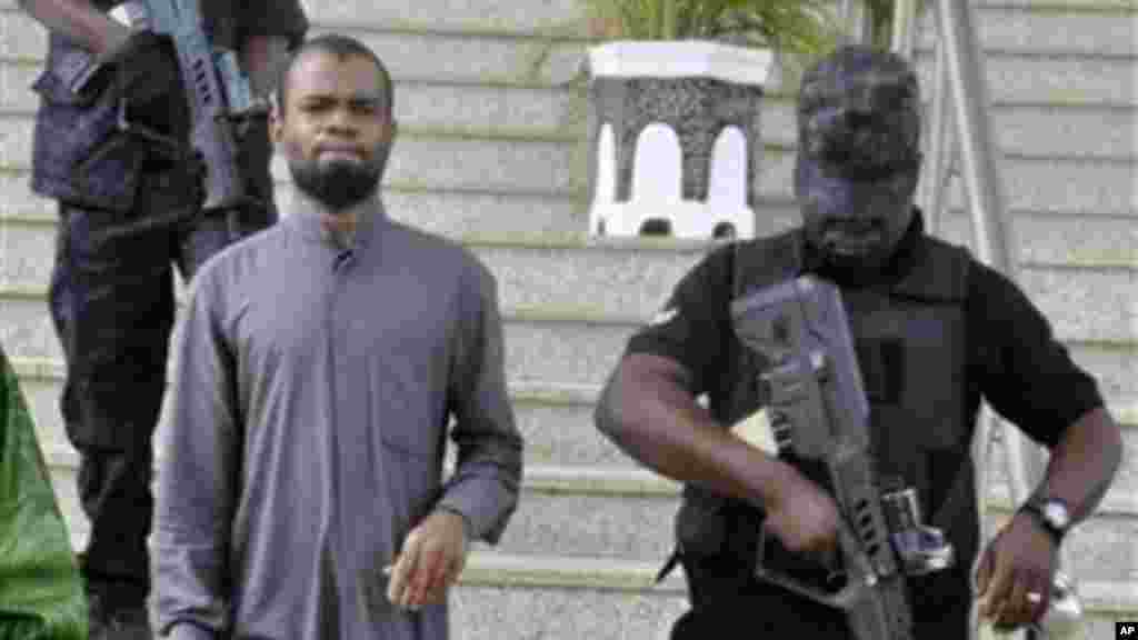 Kabiru Sokoto, the alleged mastermind of a 2011 Christmas Day bombing of a Catholic Church.