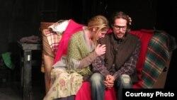 Сцена из спектакля «Фантомные боли»