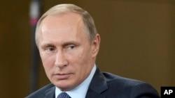 Presiden Rusia, Vladimir Putin mengritik sikap AS soal konflik di Suriah (Foto: dok).