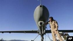 طیاره های بدون پیلوت امریکایی که قرار است در لیبیا عملیات نظامی را انجام دهند.