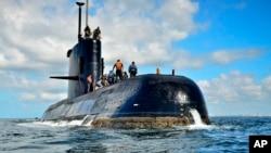 Tàu ngầm ARA San Juan của Argentina bị mất tích