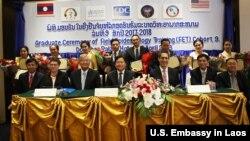 FET Graduation, Laos. (April 30, 2018)