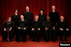 A number of other countries have created high courts that are similar to the U.S. Supreme Court. But many did not adopt one of the most unique features of the U.S. Supreme Court: life tenure for judges. The 2018 U.S. Supreme Court justices are pictured here.
