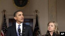 Libye : le président Obama condamne fermement les violences du régime contre les civils