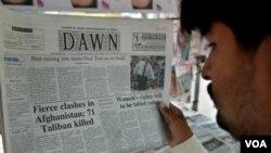 Surat kabar terkemuka Pakistan 'Dawn' bersama Wikileaks menerbitkan kawat-kawat diplomatik rahasia AS-Pakistan.